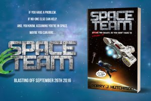 Space Team by Barry J Hutchison