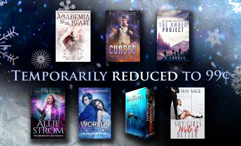 Special .99c sale! One day only!