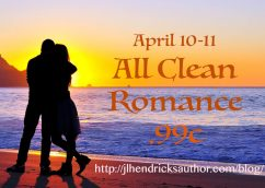 Clean Romance Reads for only .99c!
