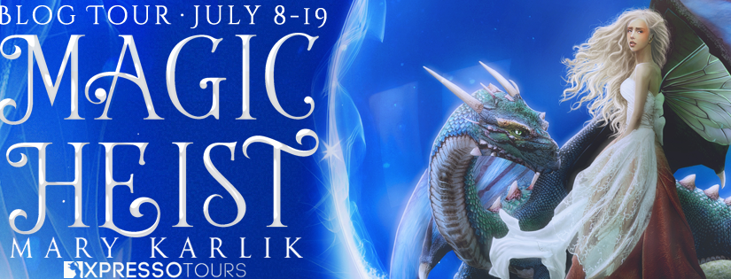 Magic Heist Young Adult Fantasy book is here!